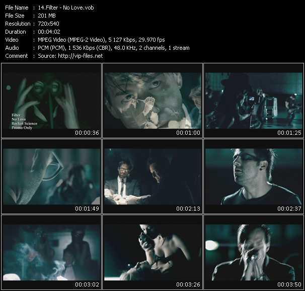 Filter video screenshot