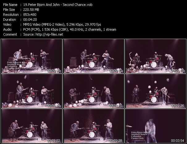 Peter Bjorn And John video screenshot