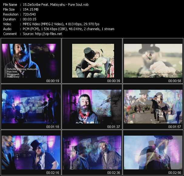 DeScribe Feat. Matisyahu video screenshot