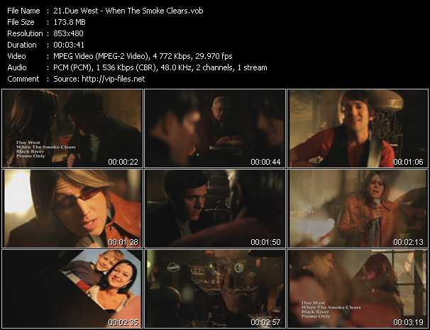 Due West video screenshot