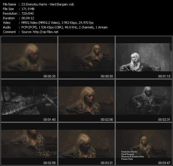 Emmylou Harris video screenshot