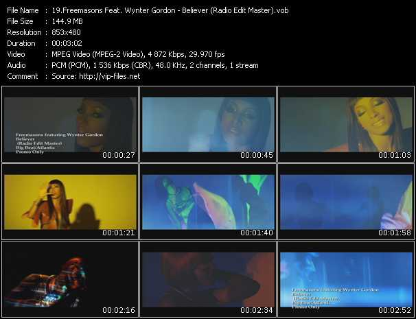 video Believer (Radio Edit Master) screen