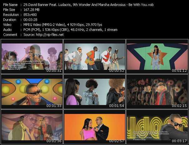 David Banner Feat. Ludacris, 9th Wonder And Marsha Ambrosius video screenshot
