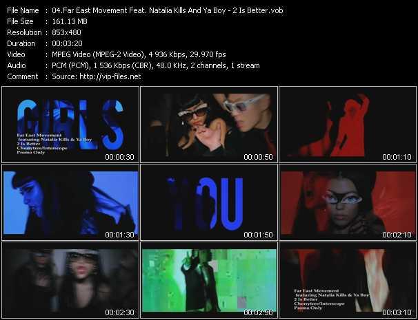 Far East Movement Feat. Natalia Kills And Ya Boy video screenshot
