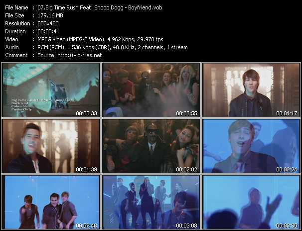 Big Time Rush Feat. Snoop Dogg video screenshot