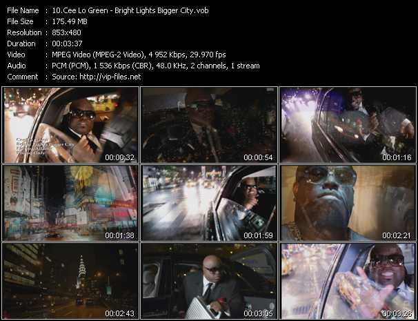 Cee Lo Green video screenshot