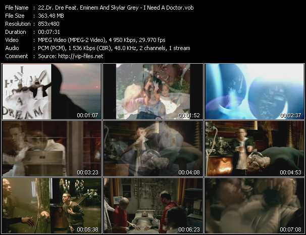 Dr. Dre Feat. Eminem And Skylar Grey video screenshot