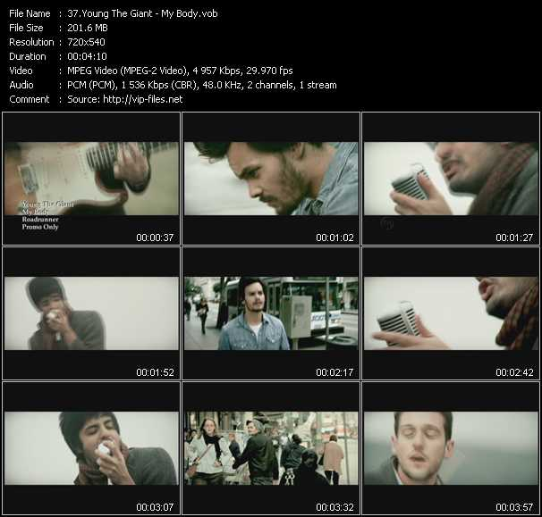 Young The Giant video screenshot