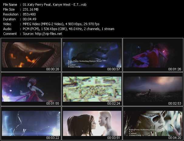 video E.T. screen