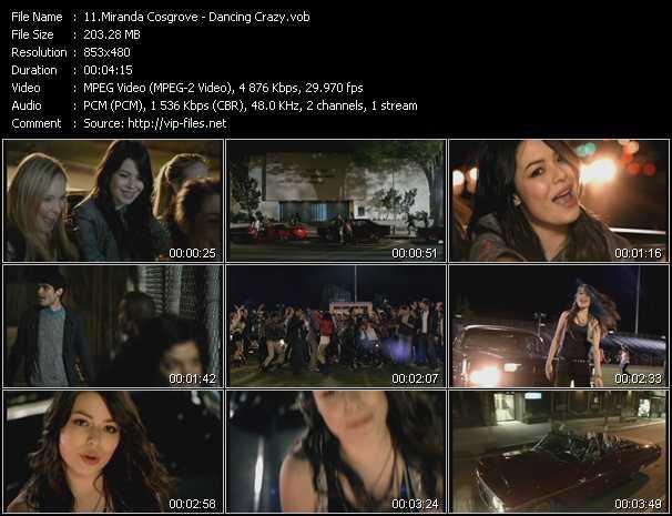 Miranda Cosgrove video screenshot