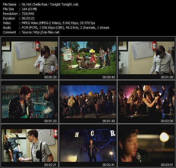 Hot Chelle Rae video screenshot