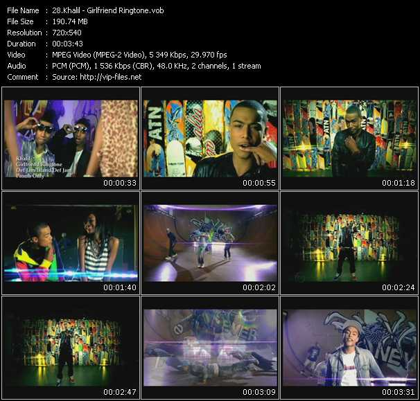 Khalil video screenshot
