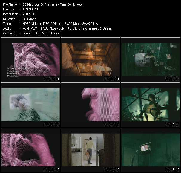 Methods Of Mayhem video screenshot