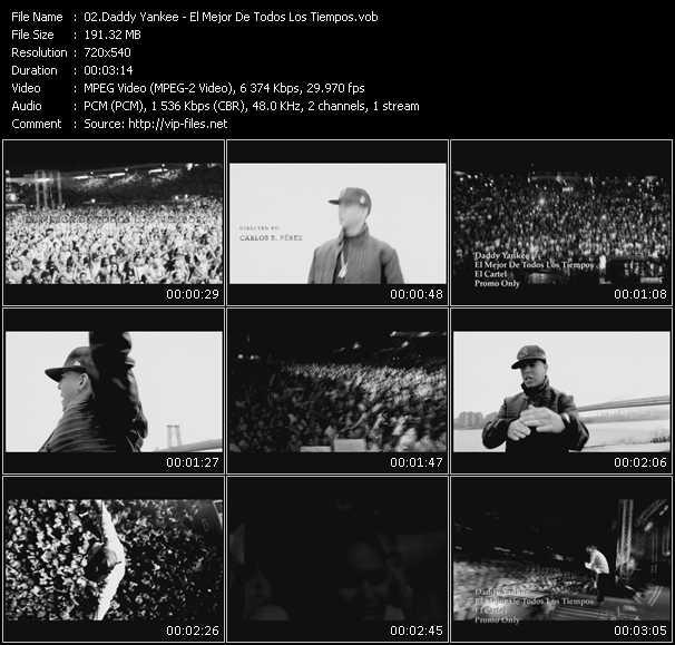video El Mejor De Todos Los Tiempos screen