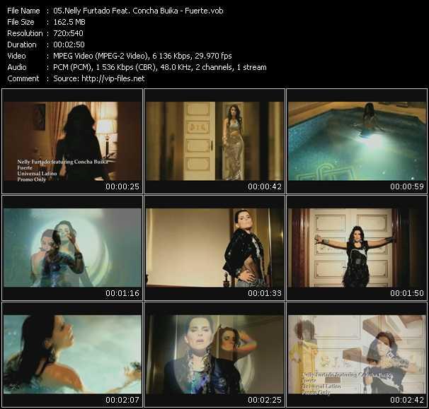 Nelly Furtado Feat. Concha Buika video screenshot