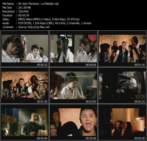 Joey Montana video screenshot