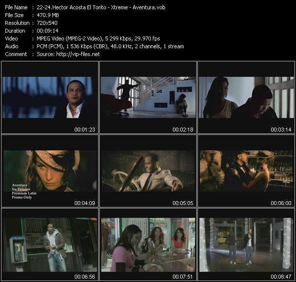 Hector Acosta El Torito - Xtreme - Aventura video screenshot