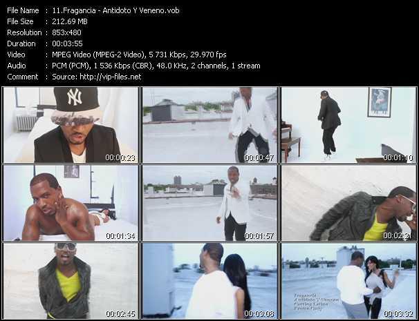 Fragancia video screenshot