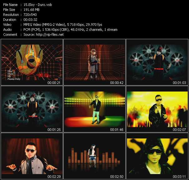 Eloy video screenshot