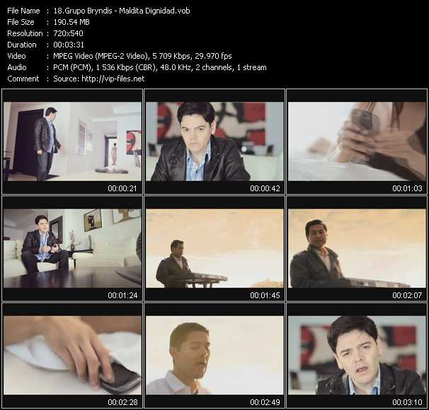 Grupo Bryndis video screenshot