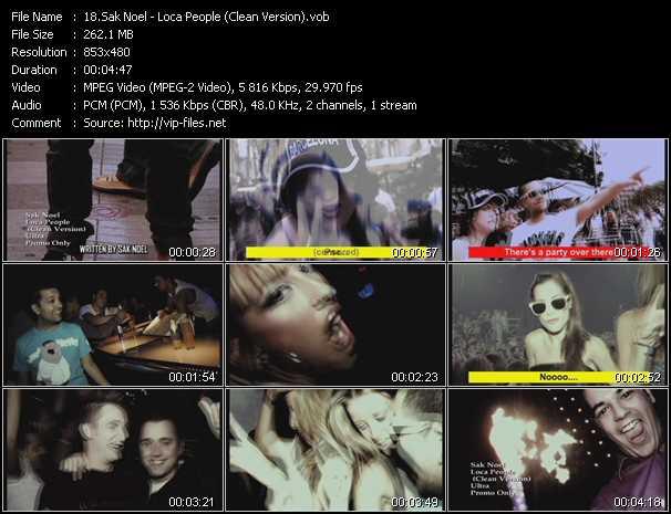 Sak Noel video screenshot