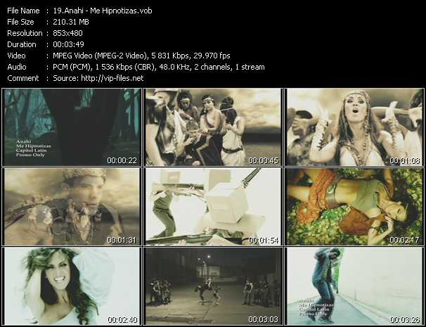 Anahi video screenshot