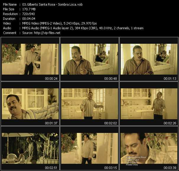 Gilberto Santa Rosa video screenshot