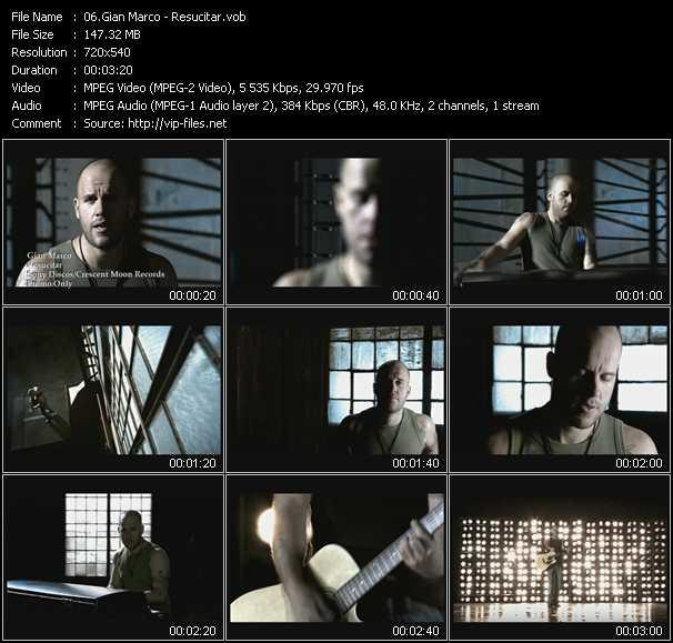 Gian Marco video screenshot