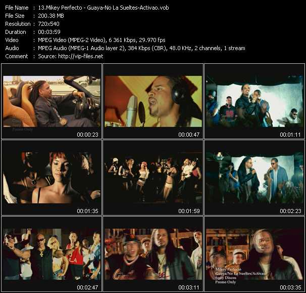 Mikey Perfecto video screenshot