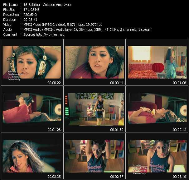 Sabrina (Sabrina Garcia-Grandos) video screenshot