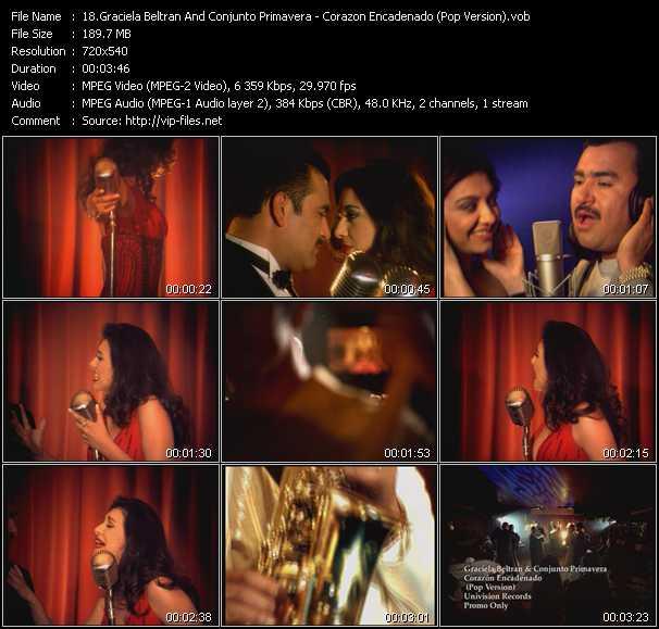 Graciela Beltran And Conjunto Primavera video screenshot