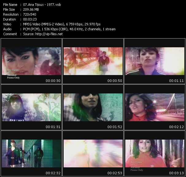 Ana Tijoux video screenshot