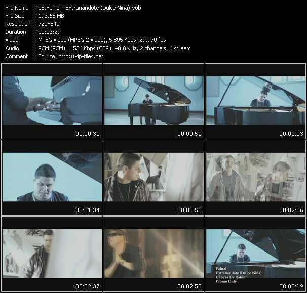 Fainal video screenshot