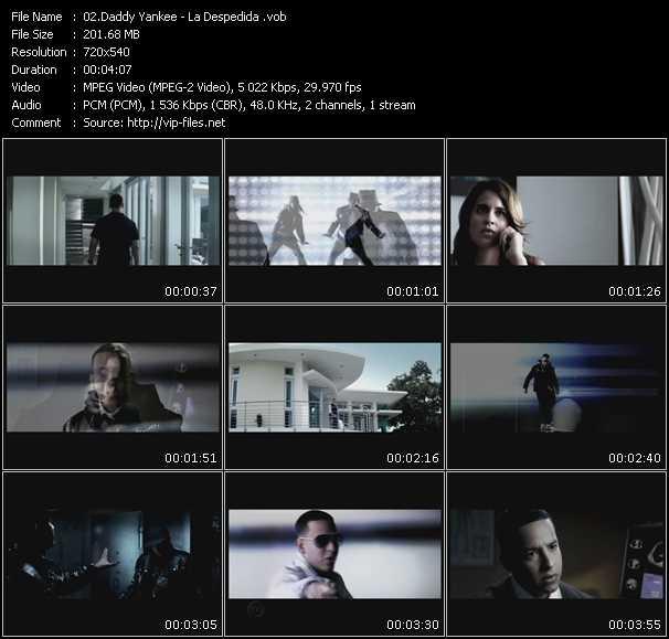 video La Despedida screen