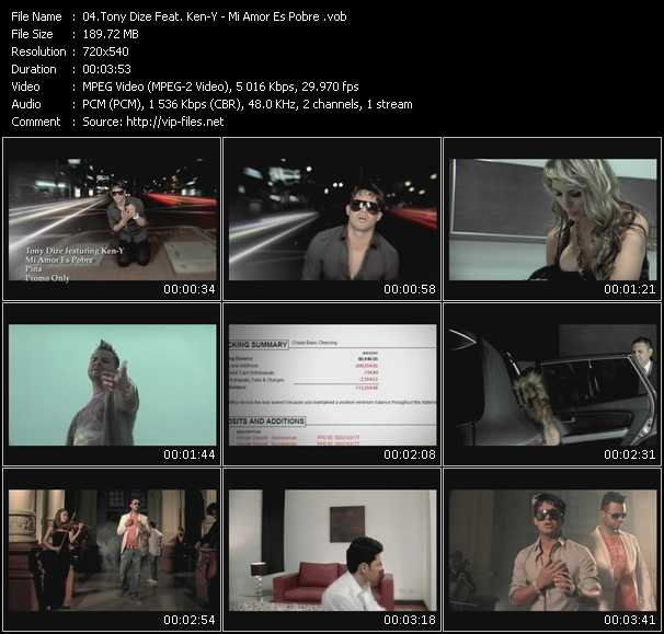 Tony Dize Feat. Ken-Y video screenshot