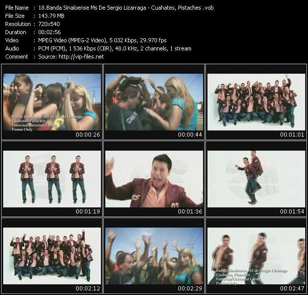 Banda Sinaloense Ms De Sergio Lizarraga video screenshot
