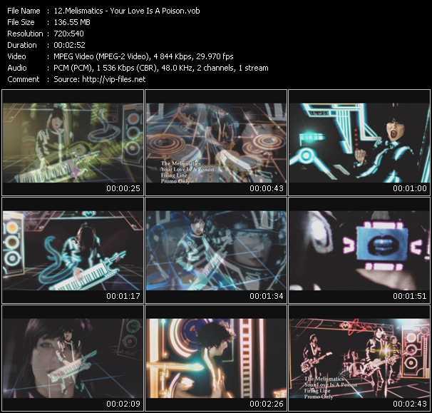 Melismatics video screenshot
