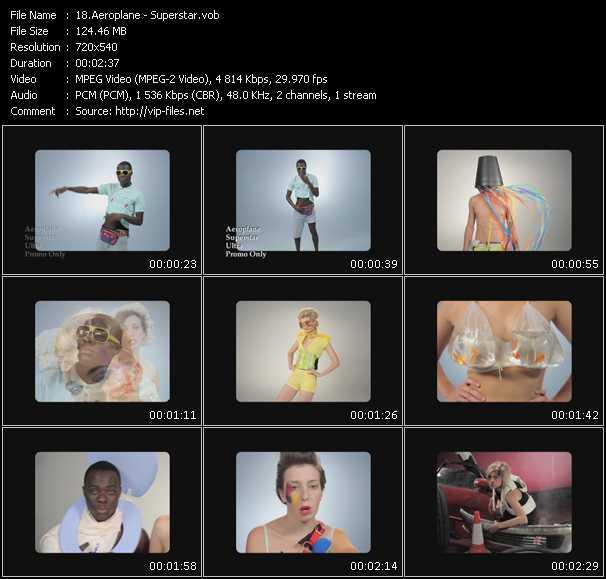 Aeroplane video screenshot