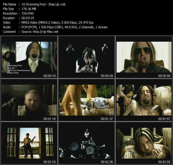 Drowning Pool video screenshot
