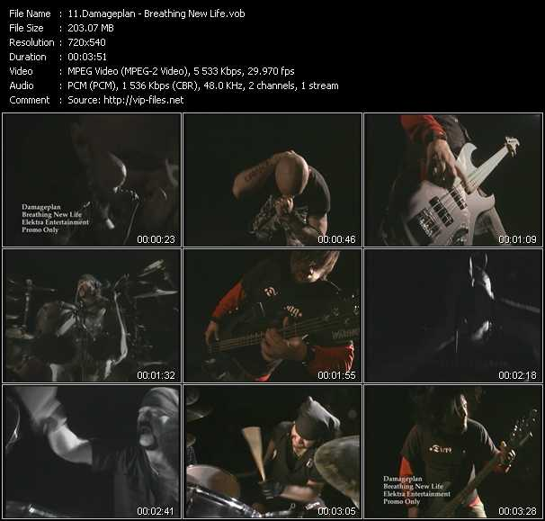 Damageplan video screenshot
