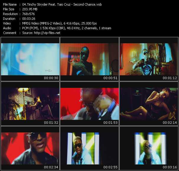 Tinchy Stryder Feat. Taio Cruz video screenshot