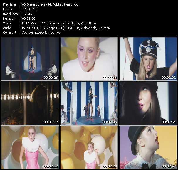 Diana Vickers video screenshot