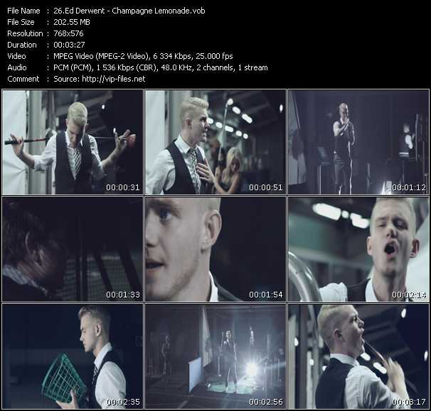 Ed Drewett video screenshot
