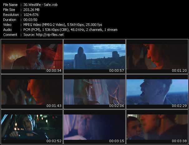 Westlife video screenshot
