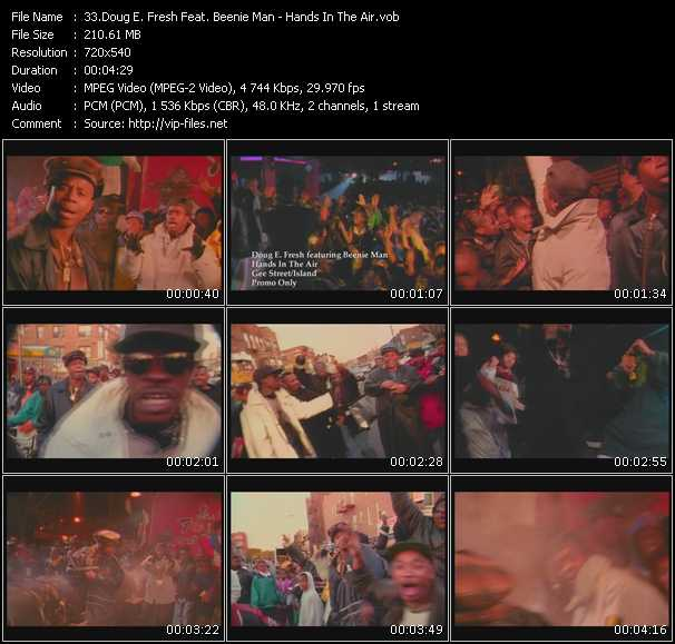 Doug E. Fresh Feat. Beenie Man video screenshot