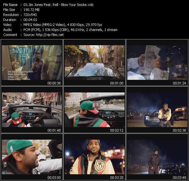 Jim Jones Feat. Rell video screenshot