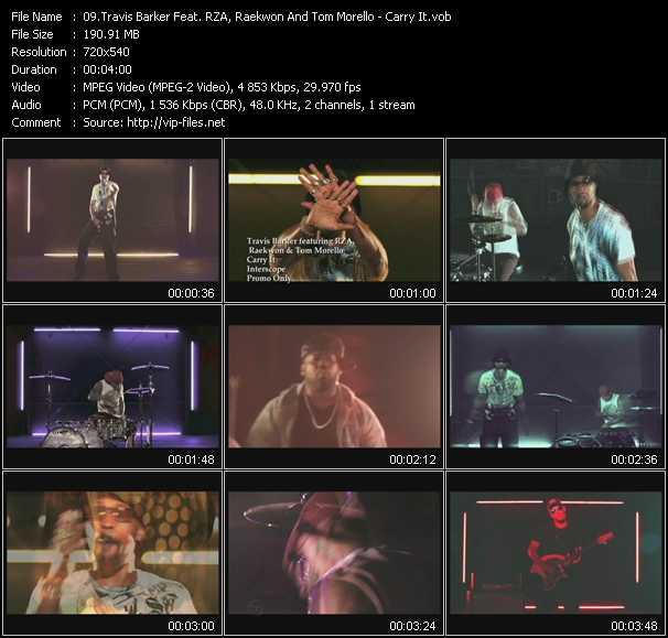 Travis Barker Feat. RZA, Raekwon And Tom Morello video screenshot