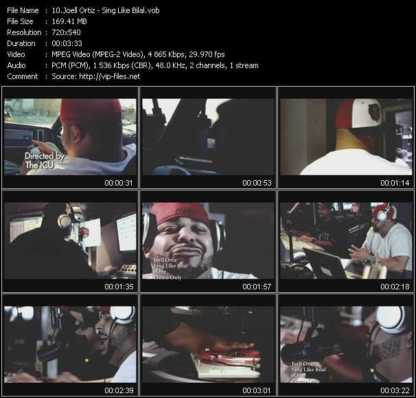 Joell Ortiz video screenshot