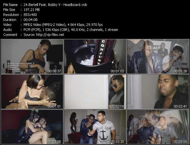 Bertell Feat. Bobby Valentino (Bobby V) video screenshot