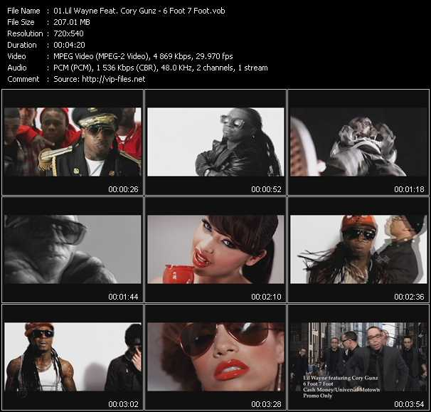 Lil' Wayne Feat. Cory Gunz video screenshot